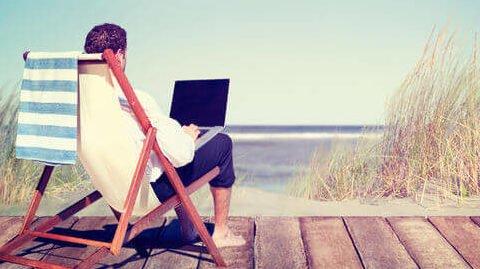 leven als een werkende reiziger