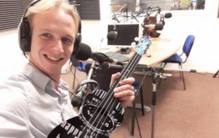 Op de radio bij Weekend Robin RTV Atos