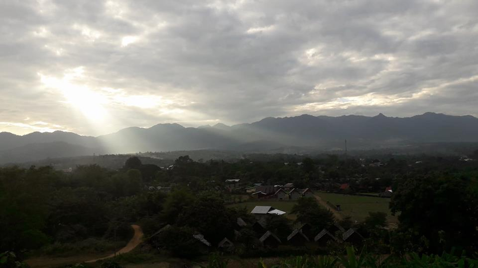 Bergen in Pai Thailand darling view point hostel