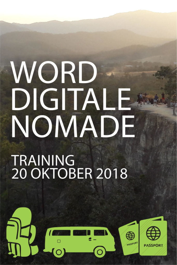 training word digitale nomade